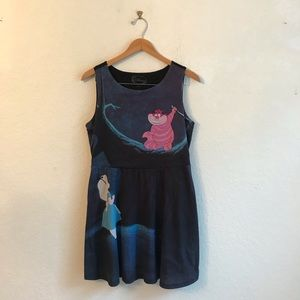 Disney XL Alice in Wonderland mini dress cat